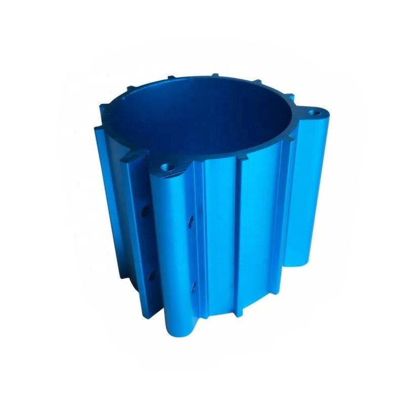 蓝色铝挤压型材