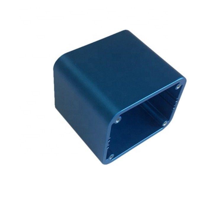 蓝色阳极氧化铝挤压型材