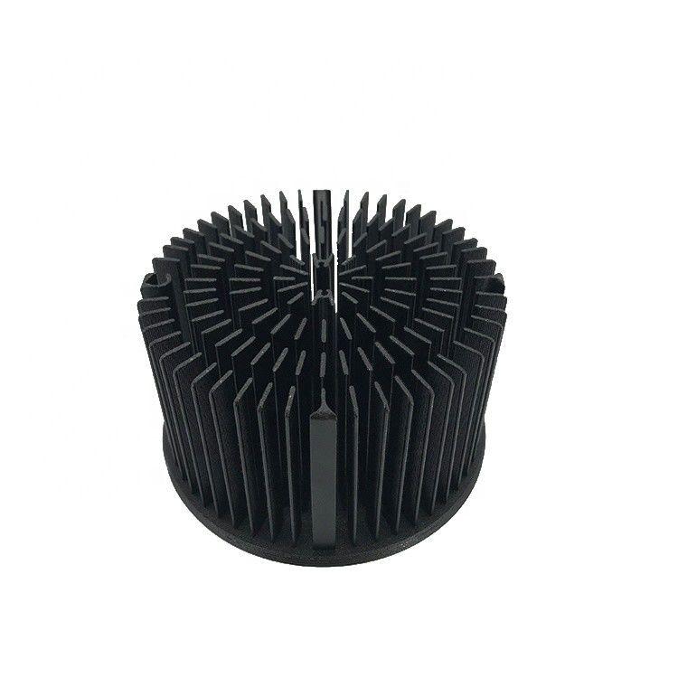LED圆形挤压铝散热器