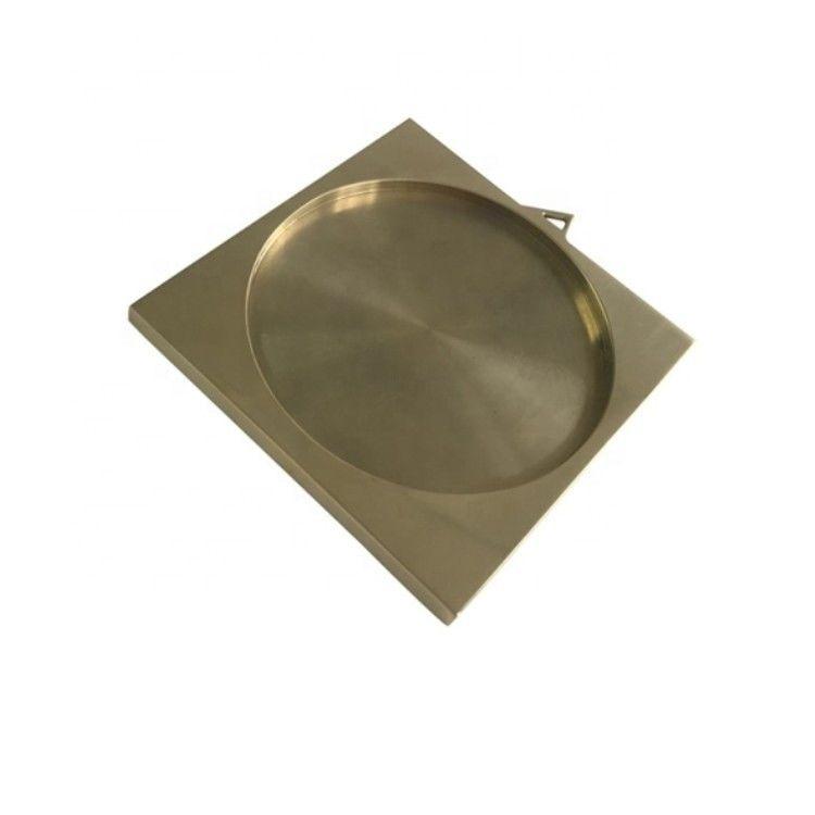 CNC加工铣削黄铜零件