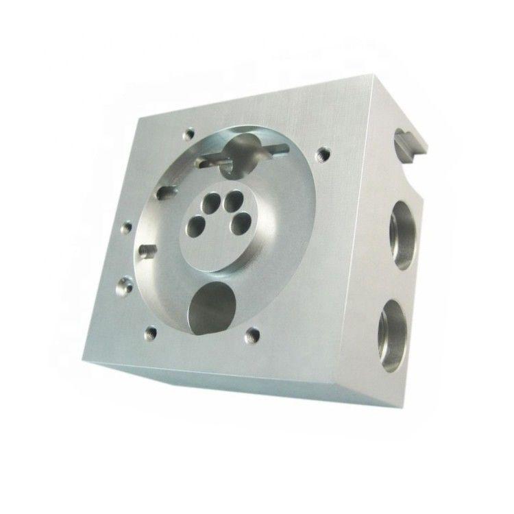 CNC铣削钻孔飞机零部件