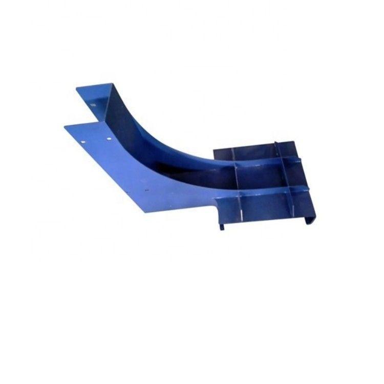 蓝色喷漆钢焊接