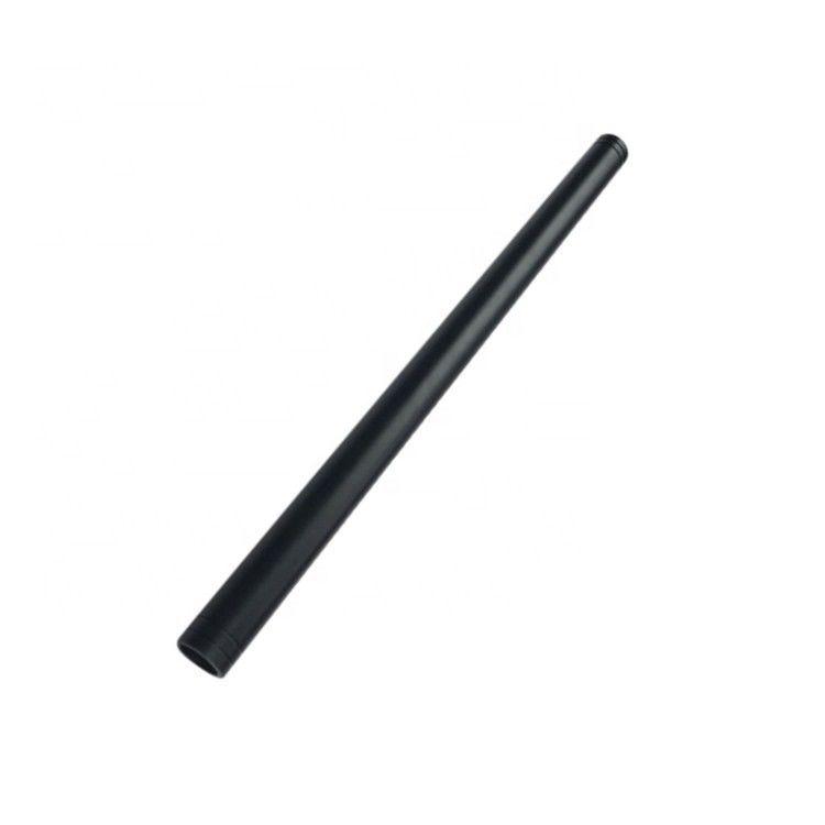 黑色挤压铝管