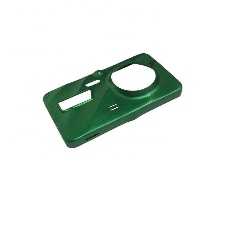绿色喷砂深冲压件
