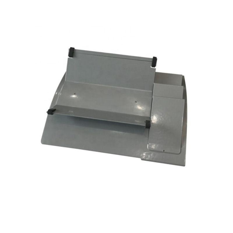 灰色喷漆钢弯曲焊接零件