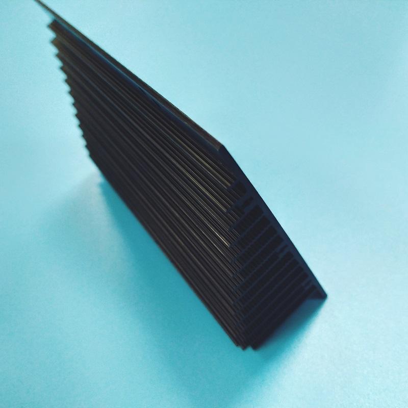 散热器喷砂氧化定制铝型材加工