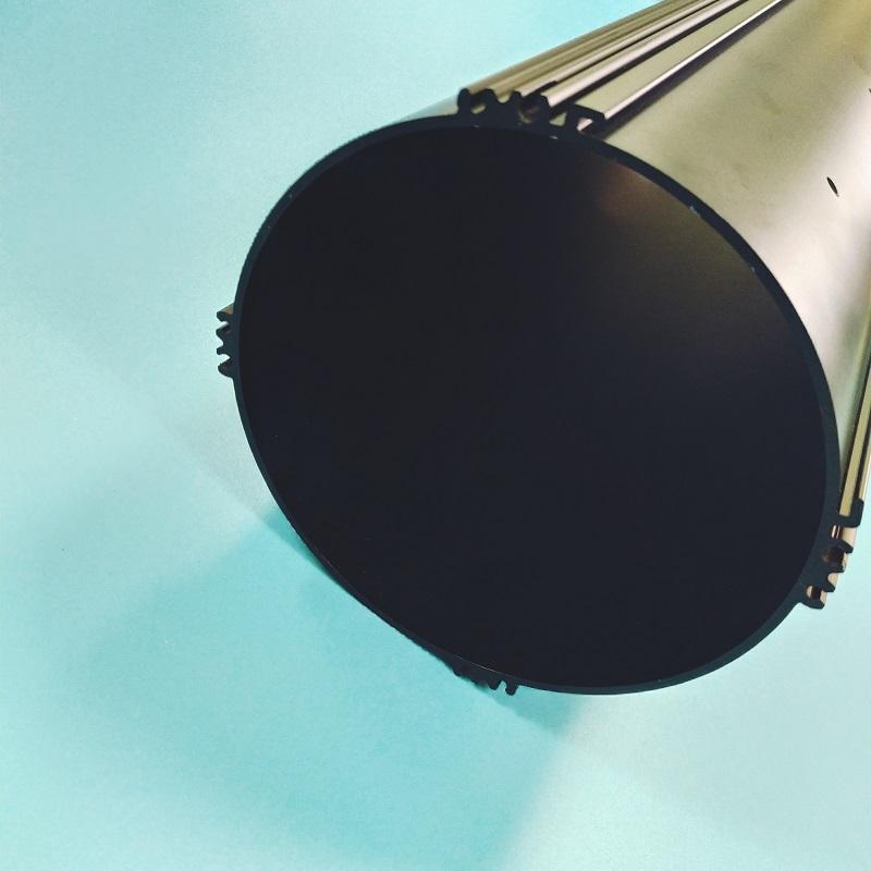 喷砂氧化精加工铝型材
