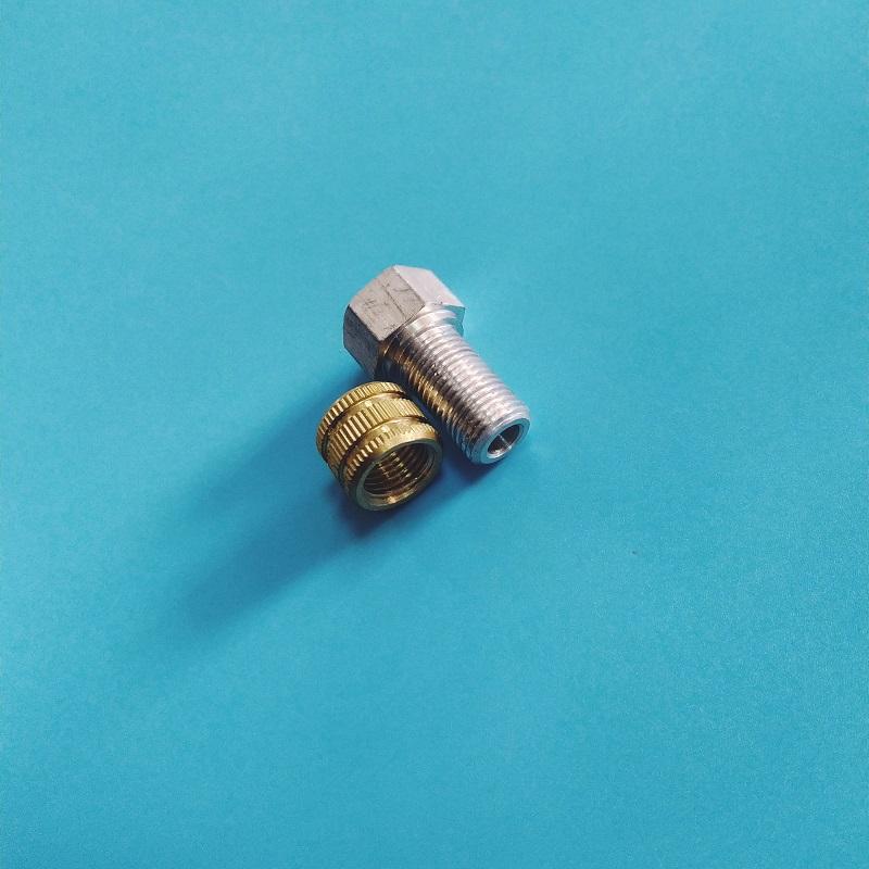 铝制品螺母加工